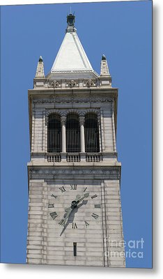 University Of California Berkeley Sather Tower The Campanile Dsc4046 Metal Print by Wingsdomain Art and Photography