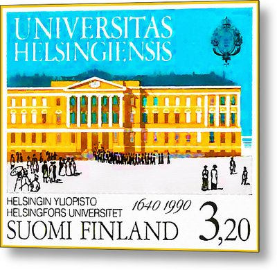 University Of Helsinki Metal Print