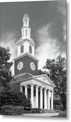 University Of Kentucky Memorial Hall Metal Print by University Icons