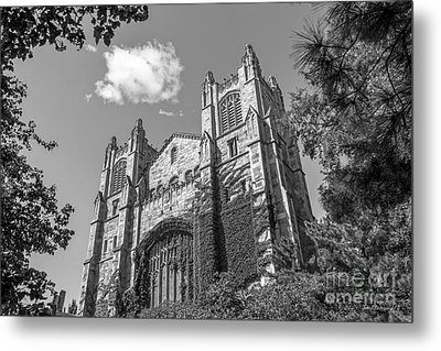 University Of Michigan Law Library Metal Print