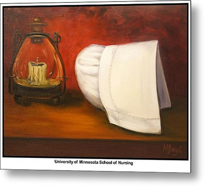 University Of Minnesota School Of Nursing Metal Print by Marlyn Boyd