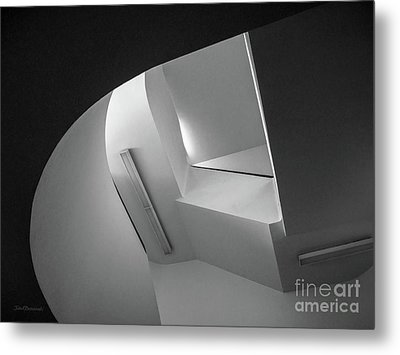 University Of Minnesota Stairwell Metal Print