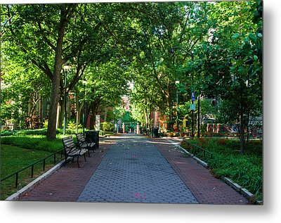 Metal Print featuring the photograph University Of Pennsylvania Campus - Philadelphia by Bill Cannon