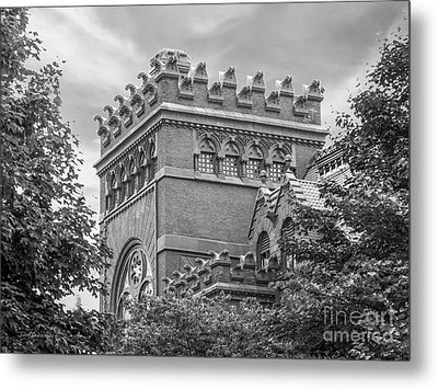 University Of  Pennsylvania Fisher Fine Arts Library Metal Print by University Icons