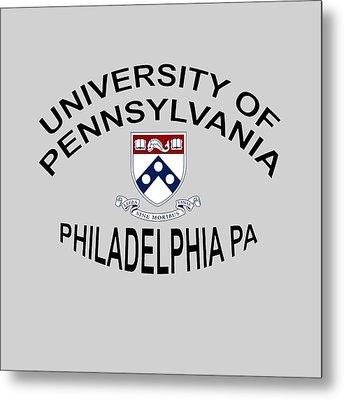 University Of Pennsylvania Philadelphia P A Metal Print