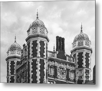 University Of Pennsylvania Quadrangle Towers Metal Print by University Icons