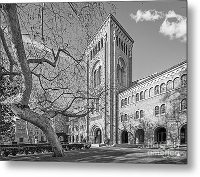 University Of Southern California Administration Building Metal Print by University Icons