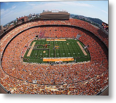 University Of Tennessee Neyland Stadium Metal Print
