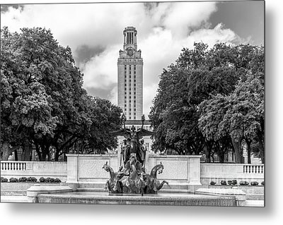 University Of Texas Austin Littlefield Fountain Metal Print
