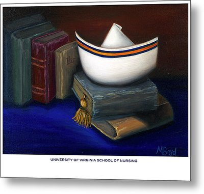 University Of Virginia School Of Nursing Metal Print by Marlyn Boyd