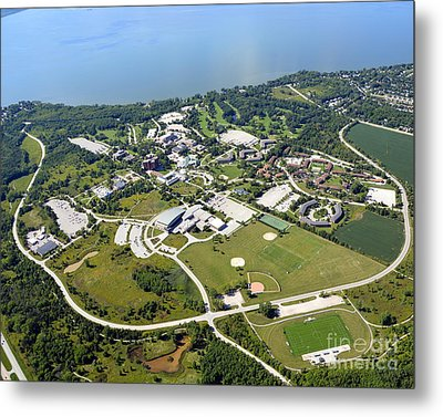 University Of Wisconsin Green Bay Metal Print
