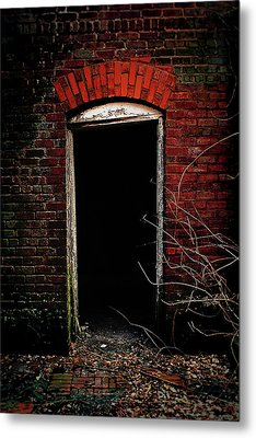 Metal Print featuring the photograph Unknowing by Jessica Brawley