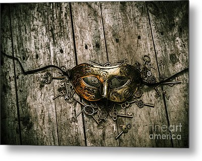 Unlocking A Golden Mystery Metal Print by Jorgo Photography - Wall Art Gallery