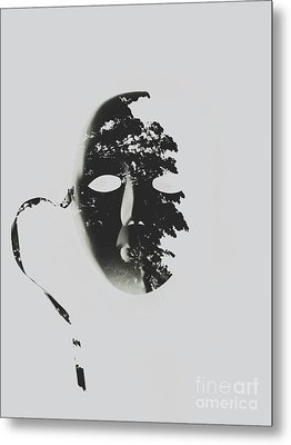 Unmasking In Silence Metal Print by Jorgo Photography - Wall Art Gallery