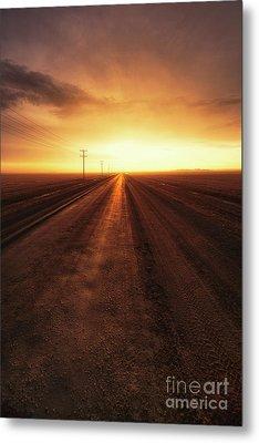 Until The End Metal Print by Ian McGregor
