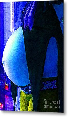 Until Waiting Is Filled Metal Print by JoAnn SkyWatcher