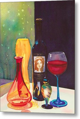 Untitled Glass Metal Print by Terry Honstead