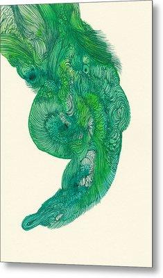 Untitled - #ss14dw040 Metal Print by Satomi Sugimoto