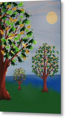 Untitled Tree Metal Print by Denny Casto