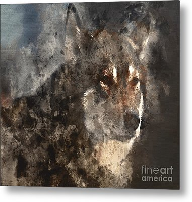 Metal Print featuring the digital art Unwavering Loyalty by Elaine Ossipov