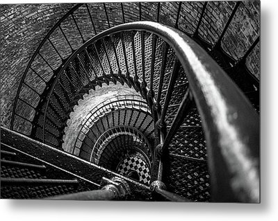 Metal Print featuring the photograph Unwind  - Currituck Lighthouse by David Sutton
