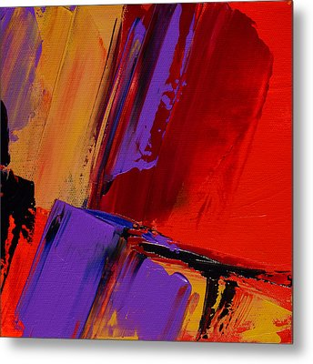 Metal Print featuring the painting Up And Down - Art By Elise Palmigiani by Elise Palmigiani