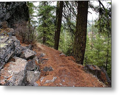 Metal Print featuring the photograph Up Around The Bend... by Ben Upham III
