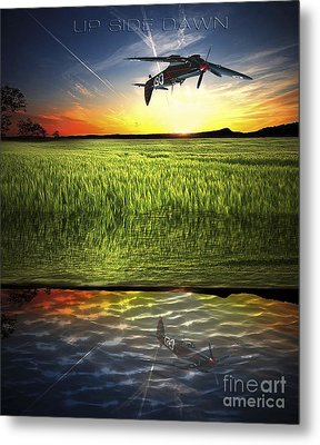 Up Side Dawn Metal Print by Amos Dor
