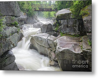 Upper Ammonoosuc Falls - Crawfords Purchase New Hampshire Metal Print by Erin Paul Donovan