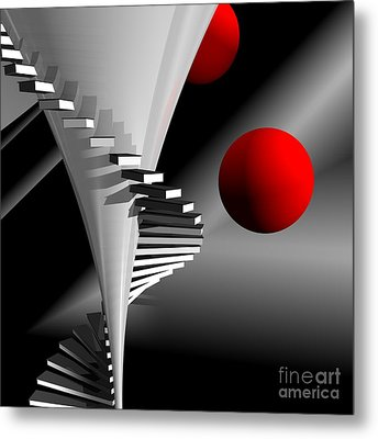Upstairs Metal Print by Issabild -