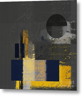 Urban Artan - Spsp11 Metal Print by Variance Collections
