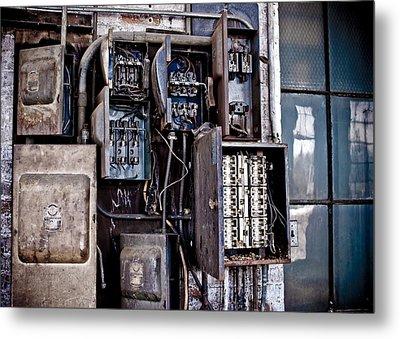 Urban Decay  Fuse Box Metal Print