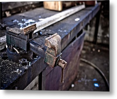 Urban Decay  The Vice Metal Print by Edward Myers