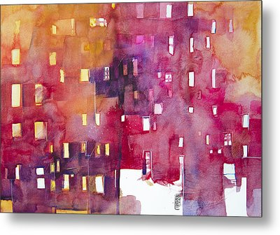 Urban Landscape 3 Metal Print by Alessandro Andreuccetti