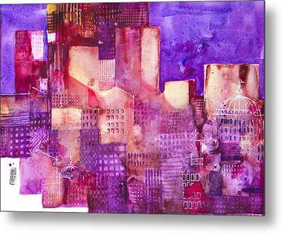 Urban Landscape 4 Metal Print by Alessandro Andreuccetti