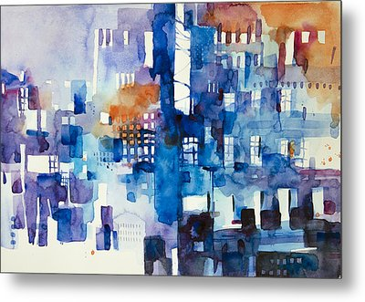 Urban Landscape No.1 Metal Print by Alessandro Andreuccetti