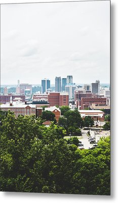 Metal Print featuring the photograph Urban Scenes In Birmingham  by Shelby Young