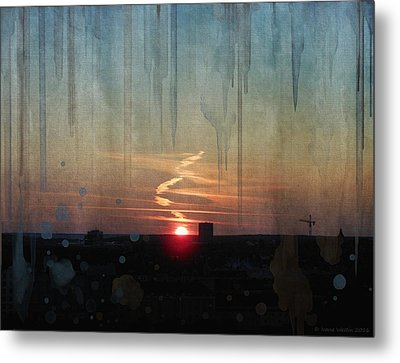 Urban Sunrise Metal Print