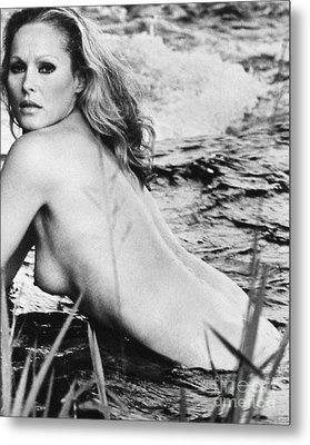 Ursula Andress (b. 1936) Metal Print by Granger