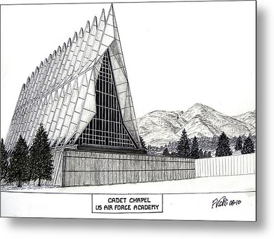 Us Air Force Academy Metal Print