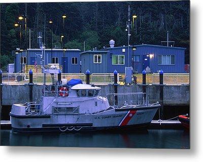 U.s. Coast Guard - Fort Bragg California Metal Print by Soli Deo Gloria Wilderness And Wildlife Photography