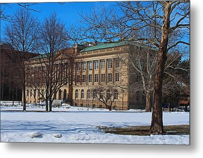 Us Court House And Custom House Metal Print by Michiale Schneider