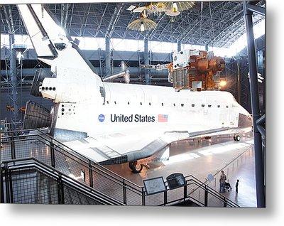 First Space Shuttle Enterprise Metal Print by Art Spectrum
