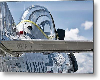 U.s. Navy T-28 Trojan  Metal Print
