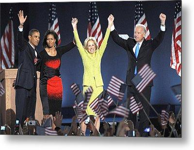 U.s. President Elect Senator Barack Metal Print