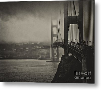 U.s. Route 101 Metal Print by Alessandro Giorgi Art Photography