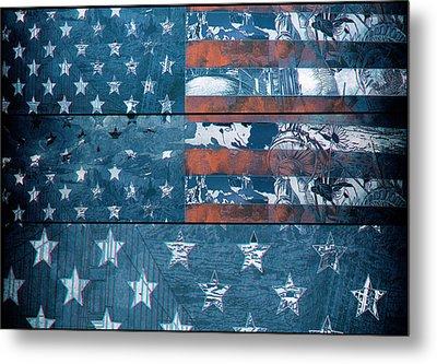 Usa Flag 8 Metal Print
