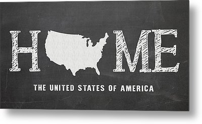 Usa Home Metal Print