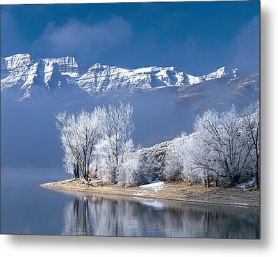 Usa, Utah, Deer Creek State Park Metal Print