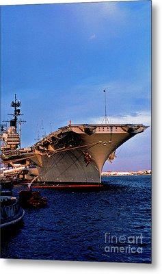 Uss Forrestal Cv-59 Metal Print by Thomas R Fletcher